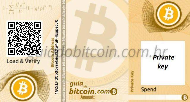 como usar carteira de papel bitcoin kiek bitcoins yra prekiaujama kiekvieną dieną