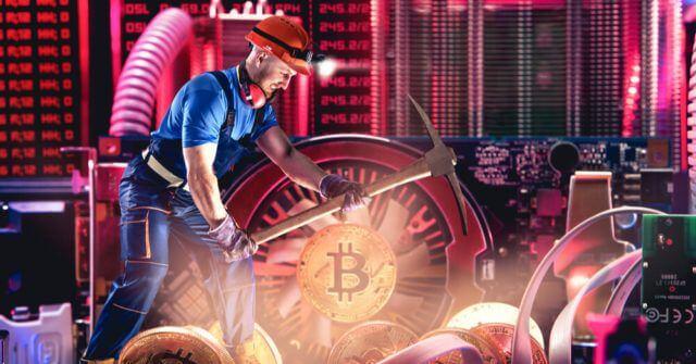 Bloco de mineração de Bitcoin é recompensado até 6,25 após o terceiro halving