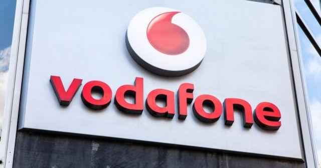 Letreiro da Vodafone