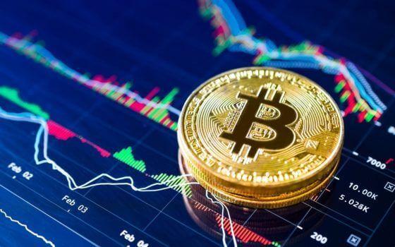 moeda de bitcoin
