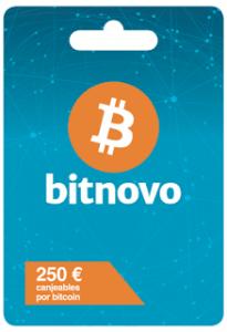 Bitnovo oferece cartões de bitcoin carregados em cinquenta lojas de lojas espanhol Carrefour
