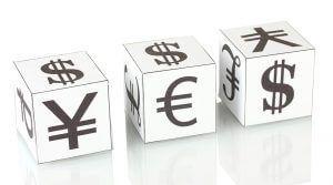 iene euro e dólar