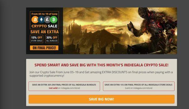 Indie Gala Bitcoin