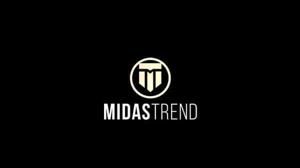 logotipo da empresa midas trend
