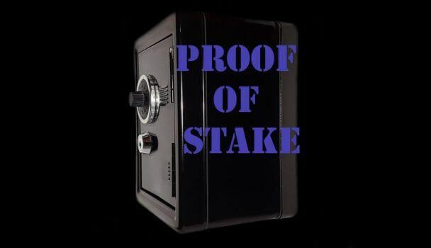 botão escrito proof of stake
