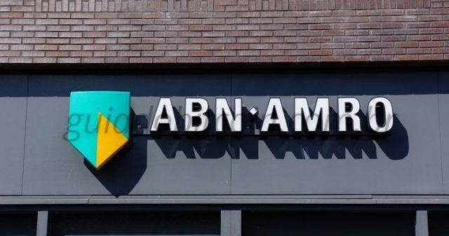 fachada banco abn amro bank