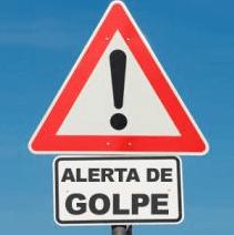 placa de alerta