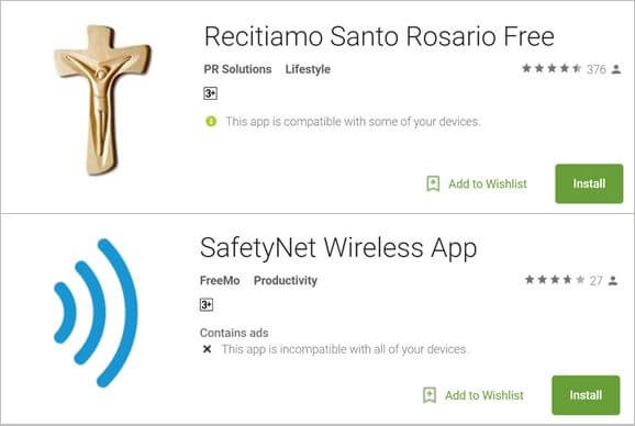Apps Android com Malware