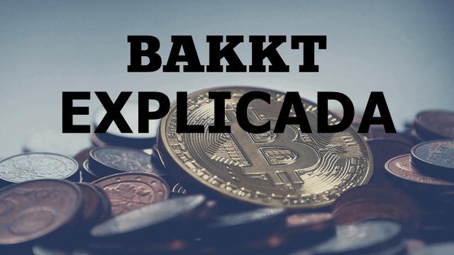 imagem de uma moeda de bitcoin. escrito bakkt explicada