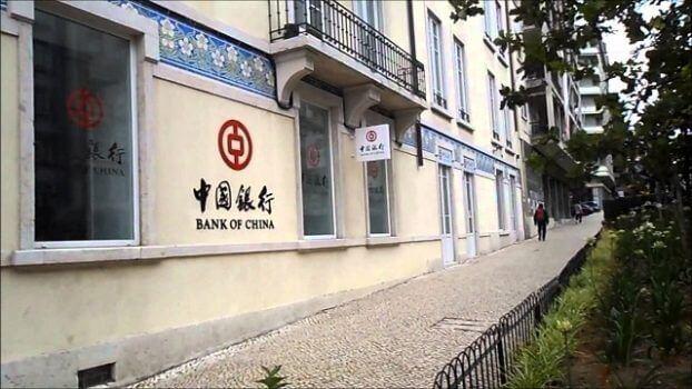 fachada banco da china