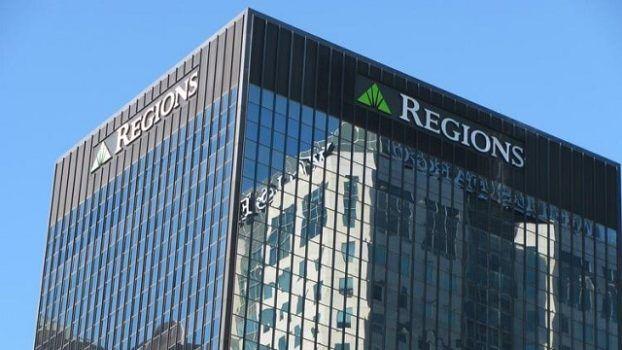 prédio do banco regions