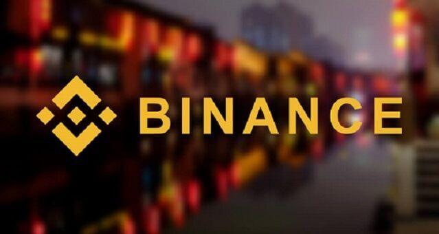 logo da exchange binance