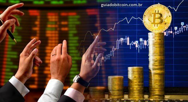 ações de negociação de bitcoin