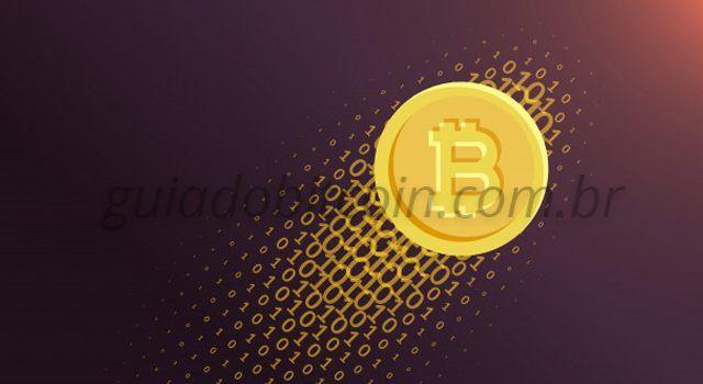 desenho de moeda bitcoin