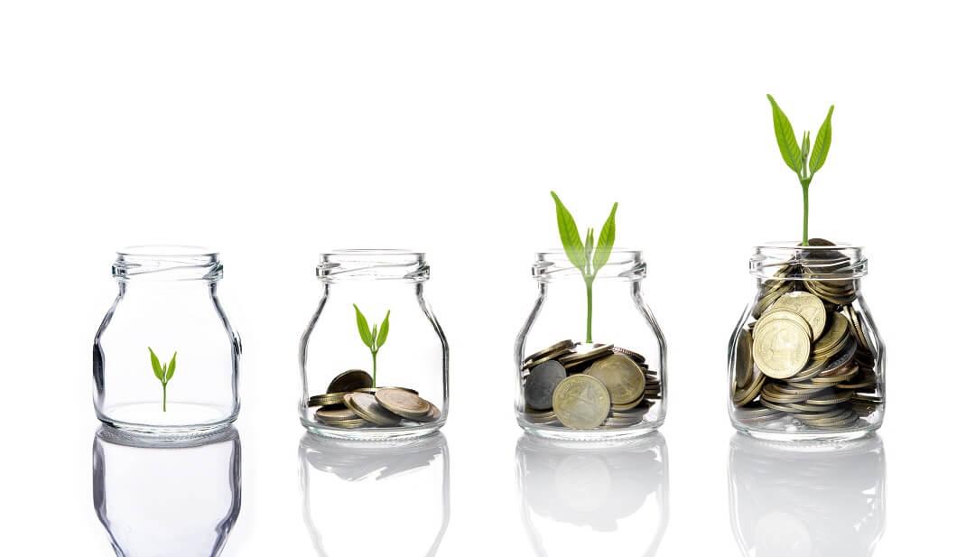 A evolução do investimento