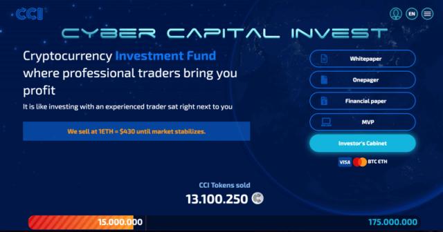 cyber capital invest registro