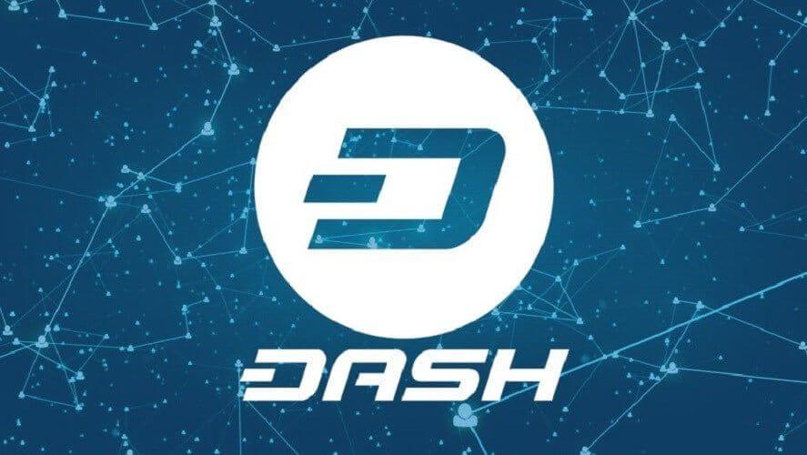 simbolo da criptomoeda Dash