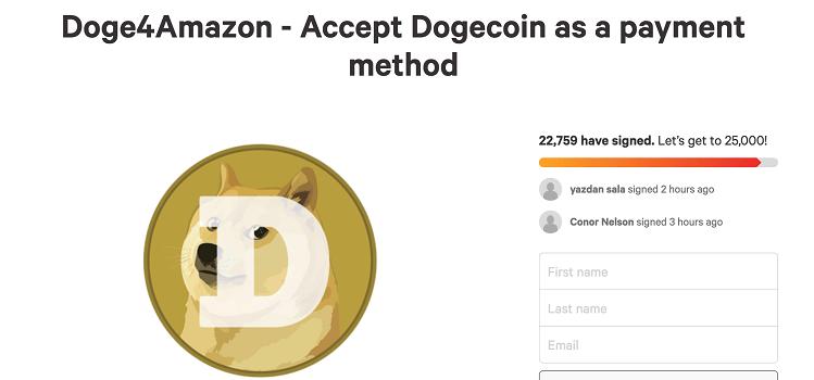 campanha doge4amazon