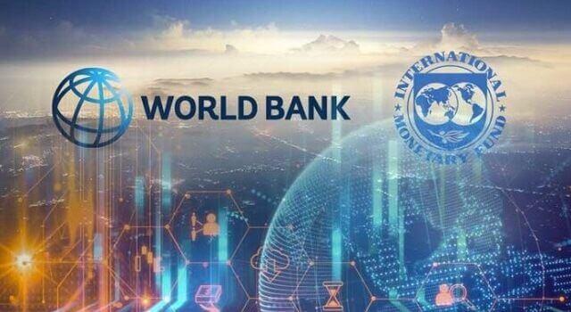 logo do fmi e do banco mundial