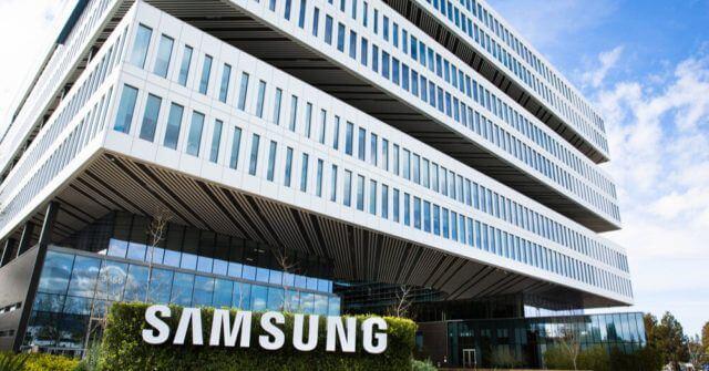 O edifício Samsung