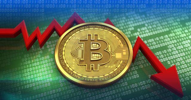 Queda de preço de Bitcoin