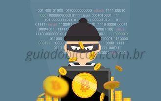 roubando bitcoin