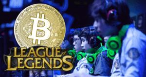 jogadores league of legends lol e uma moeda bitcoin