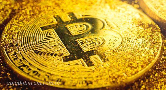 bitcoin brilho ouro