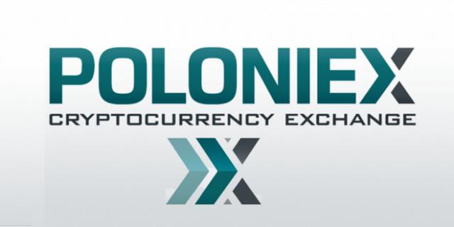 imagem com a logomarca da poloniex
