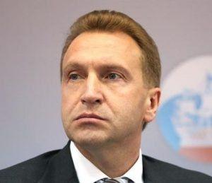 Alexei moiseev ministro da Rússia