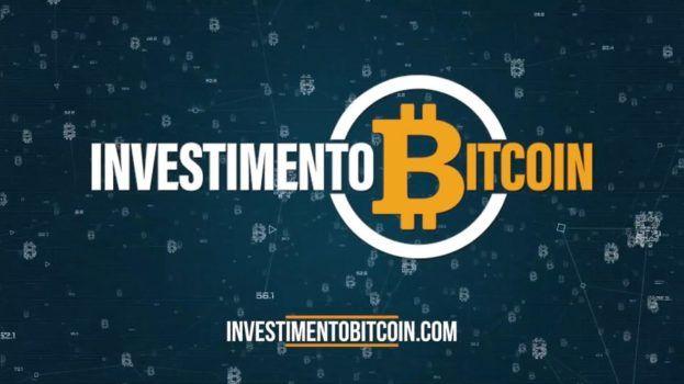 imagem com a logo da empresa investimento bitcoin