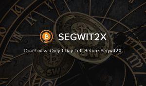 aviso para o segwit2x