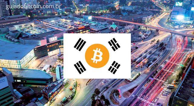 Resultado de imagem para Bitcoin Coréia