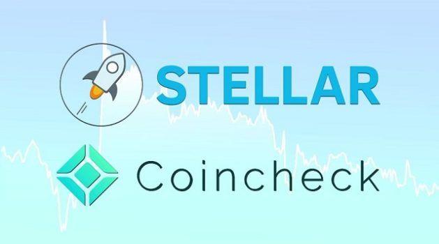 logotipo da criptomoeda stellar e da exchange coincheck