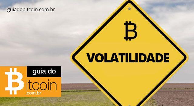 placa de trânsito com a palavra volatilidade escrita