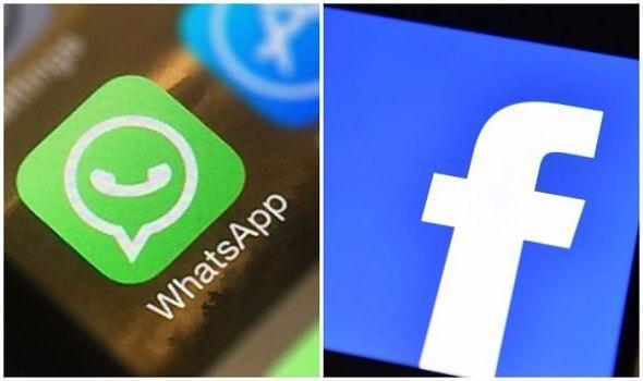 logo do whatsappe do facebook