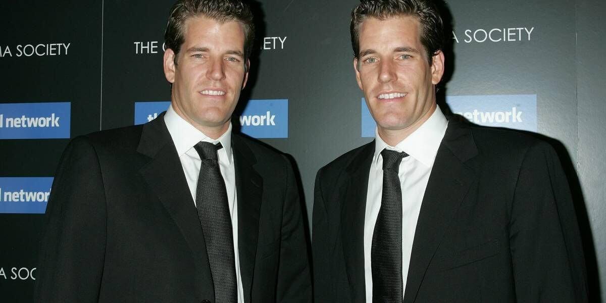 não é um problema para os gêmeos Winklevoss